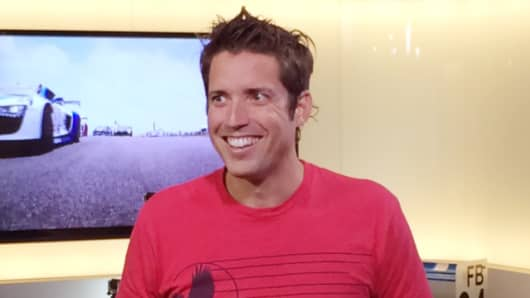 Nick Woodman, founder and CEO of GoPro.